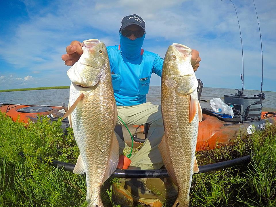 What to expect tails and scales guiding service for Kayak fish stringer